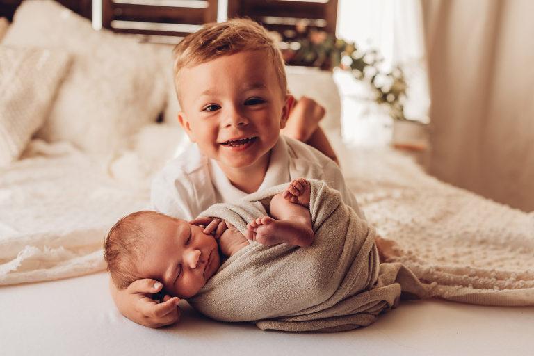 BabyfotosLandauBabymitBruder